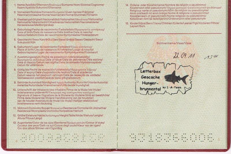 Geohobbythek: Finderbuch für Letterboxen