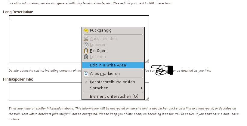 Nachgelegt: HTML mit Browser Add-On bearbeiten