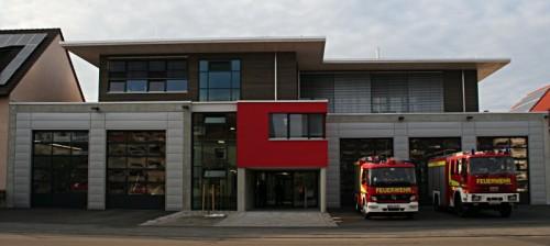 Gerätehausweihe der Feuerwehr Pfuhl