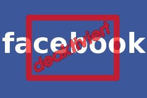 Facebook deaktiviert