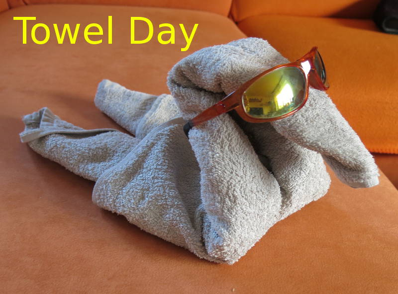 Towel Day 2013