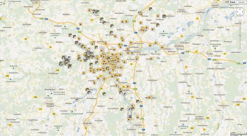 Karte 2008