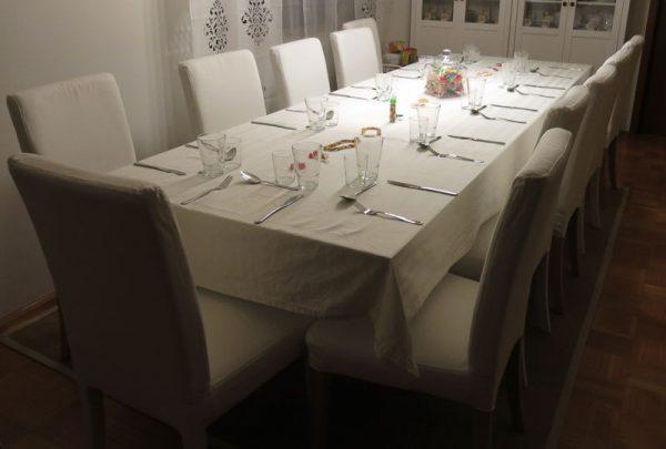 Tafel Experimentelles Dinner