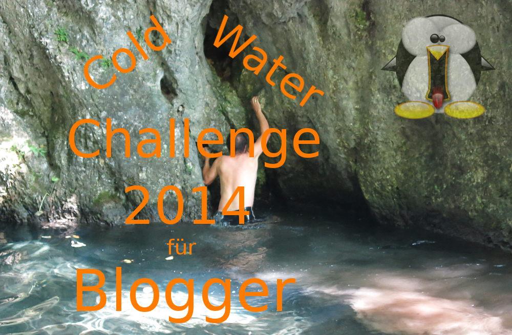 Cold Water Challenge 2014 für Blogger