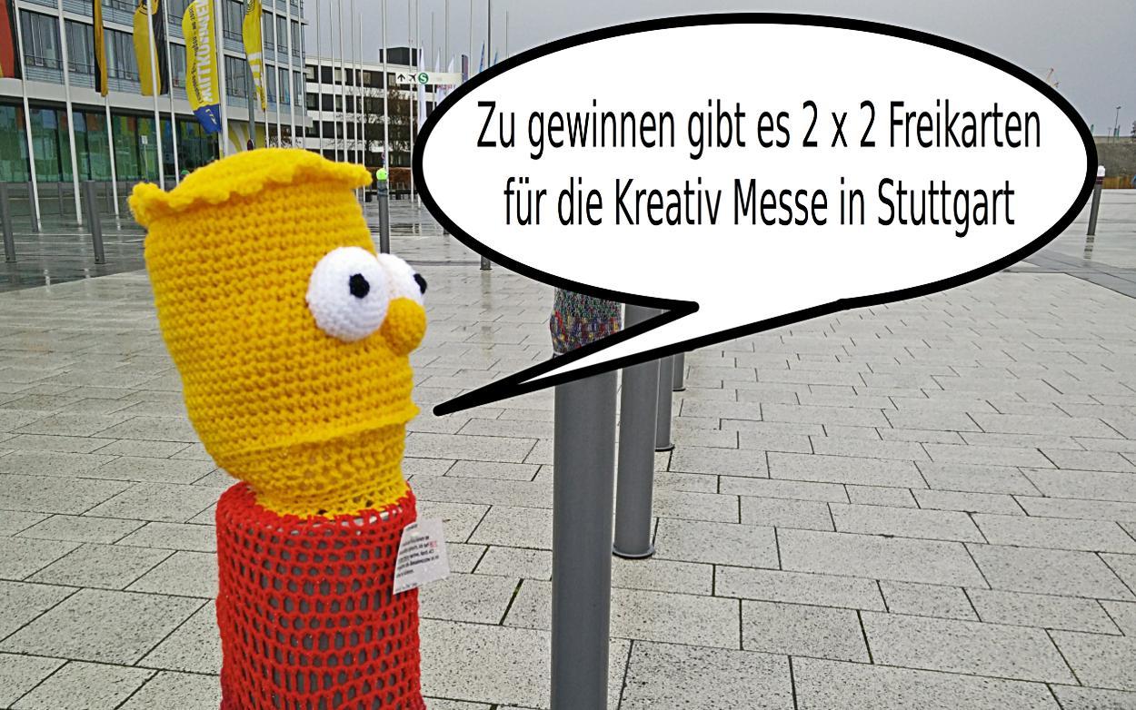 Gewinnspiel – 2 x 2 Freikarten für die KREATIV Messe in Stuttgart