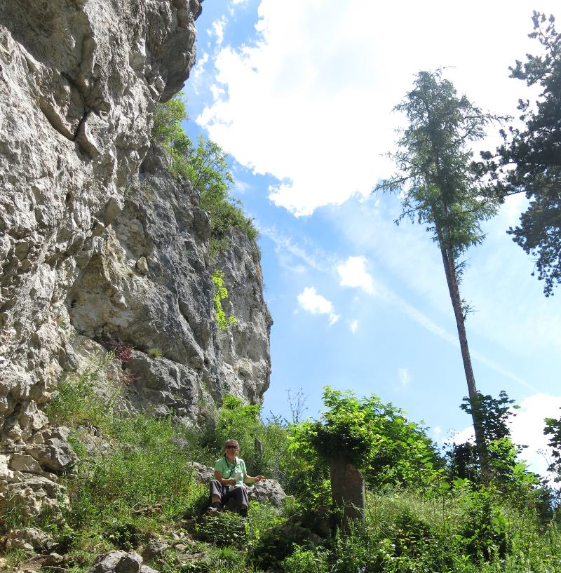 Geocache Rucken - Blaufels - Rusenschloss GC1A9P9