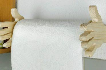 Artikelbild Küchenrollenhalter aus Holz selber machen
