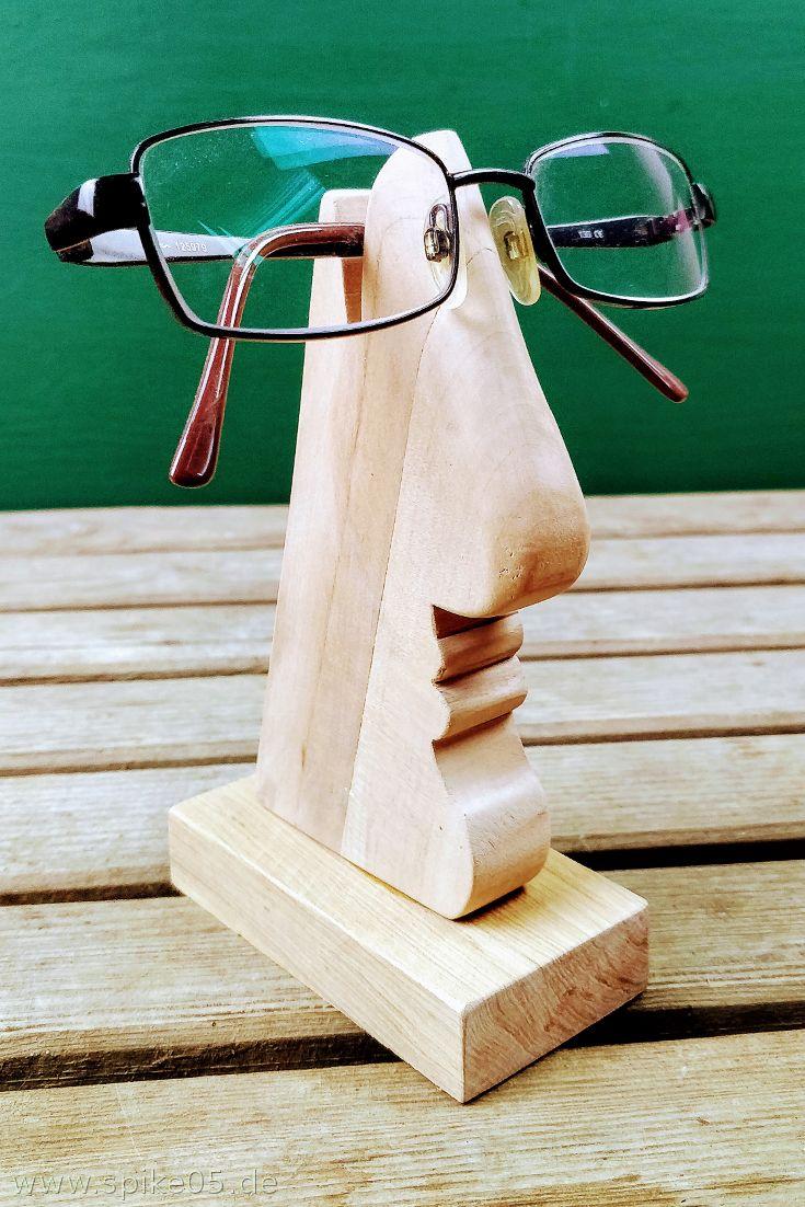 Brillenhalter Holz