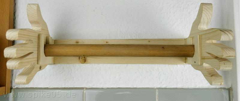 Küchenrollenhalter ohne Küchenrolle