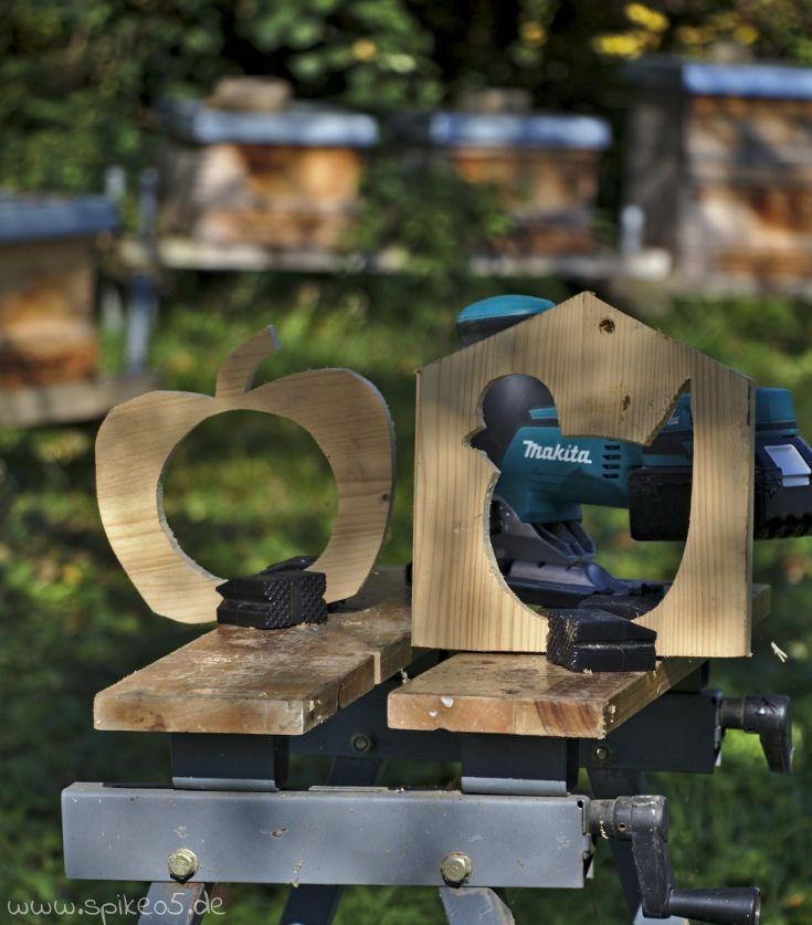 vogelfutterstation meisenknödelhalter diy selber machen