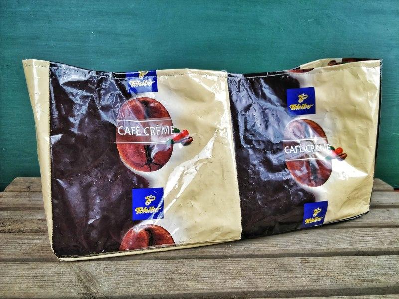 Tasche Kaffeetüten Upcycling