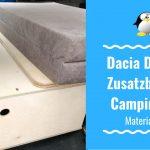 Artikelbild Zusatzbox für Dacia Dokker Campingbox