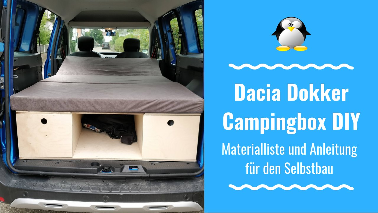 dacia dokker diy campingbox materialliste f r den. Black Bedroom Furniture Sets. Home Design Ideas