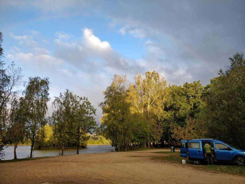 Übernachtungsplatz See