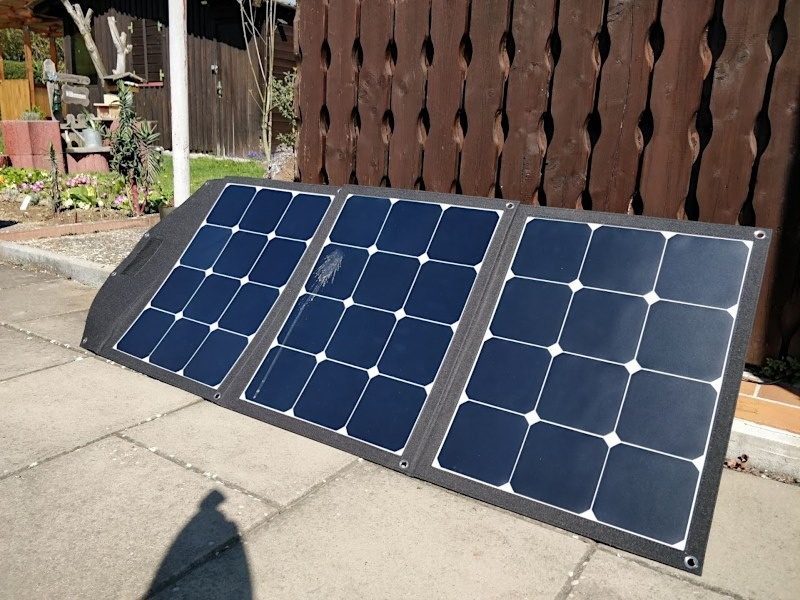 Offgridtec FSP-2 Faltbares Solarmodul 120 W Victron MPPT 75/15 Bluetooth