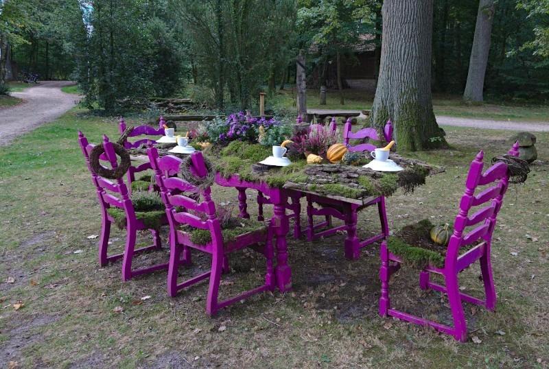 Walderlebnis Ehrhorn - gedeckter Tisch