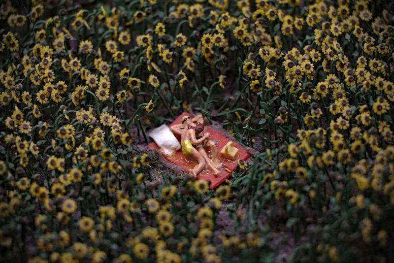 Miniaturwunderland - Liebespaar