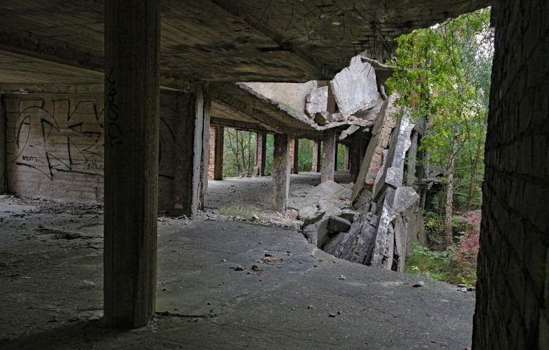 Ruinen von Prora auf Rügen