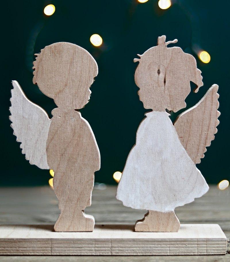 Engel Bub und Mädel