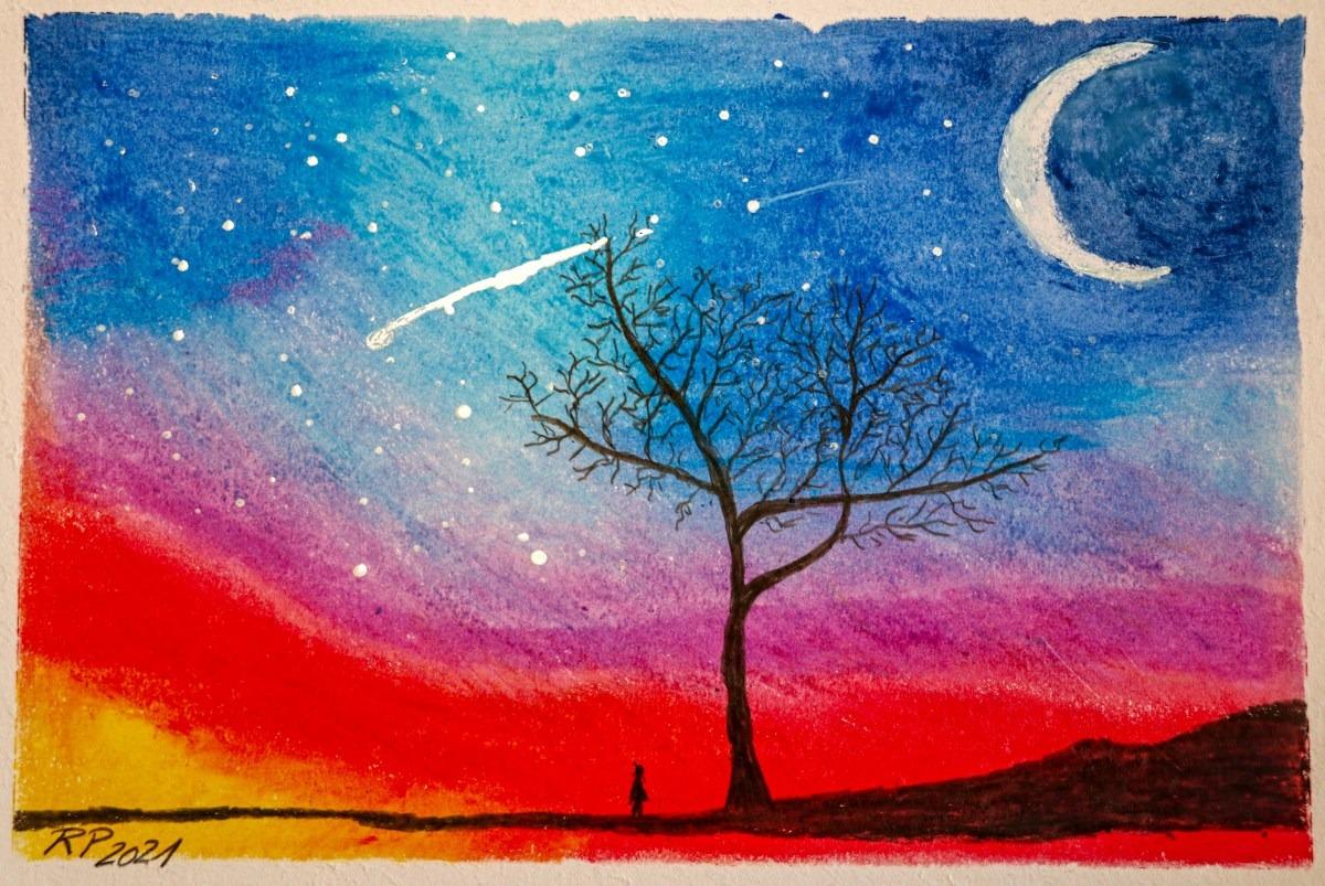 Bild Ramona Baum Mondsichel