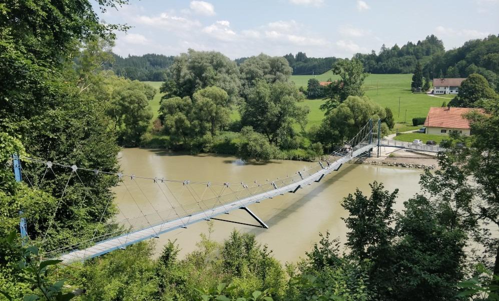 Hängebrücke Altusried Allgäu